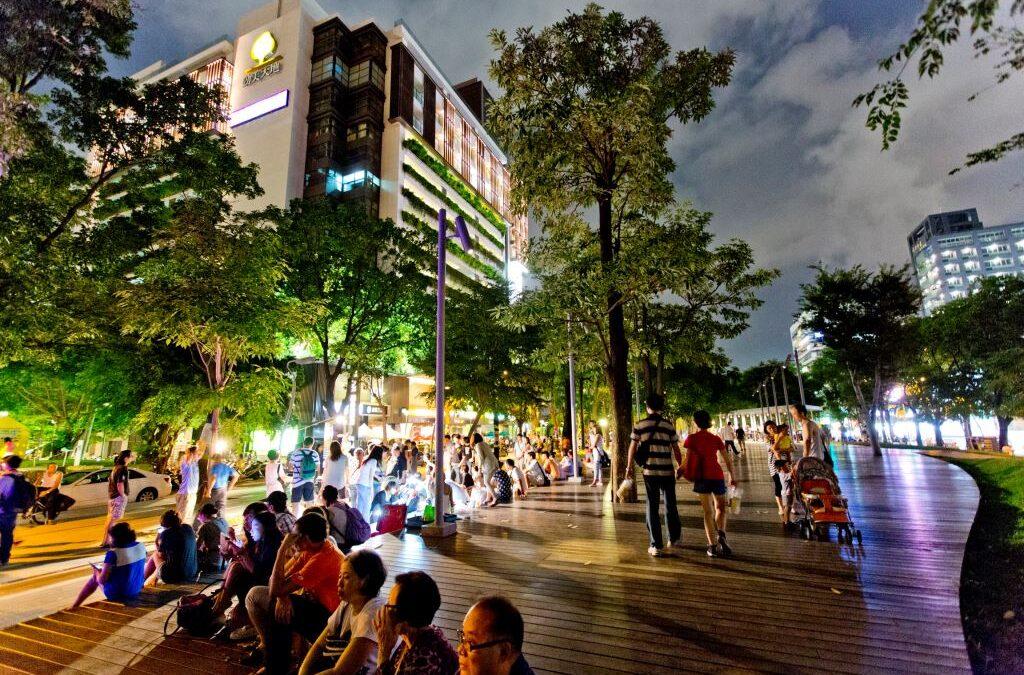 台中市區一日遊推薦,必踩人氣都市景點、IG夯爆夜景啤酒bar——「禾樂精釀所」
